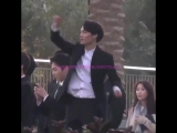 LQ FANCAM 180116 The Dubai Fountain Water Show @ EXO's Kai (Kim Jongin)