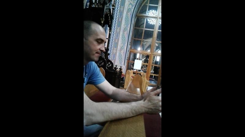отрывок концерта в костёле в г Домброва Гурнича
