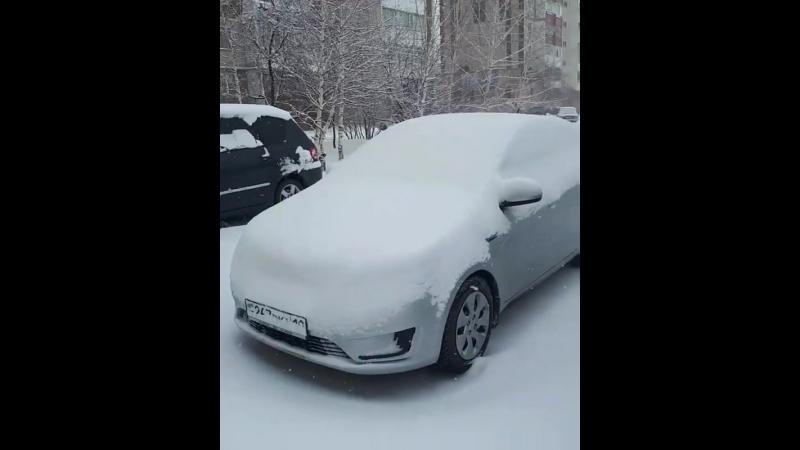Весна 2018 г., Лисаковск