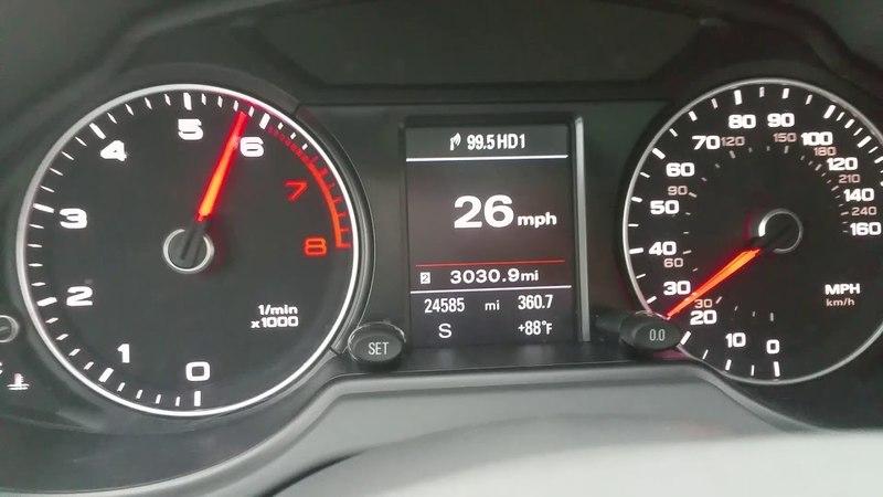 2016 Audi Q5 2.0T 0-100 разгон