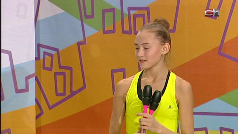 Диана Тимофеева, чемпионка ХМАО-Югры по художественной гимнастике,кандидат в мастера спорта