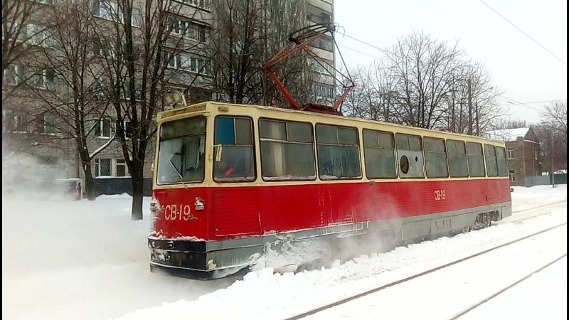 ВТК-24 [71-605 (КТМ-5)] №СВ-19 Ул.Бабушкина г.Днепропетровск