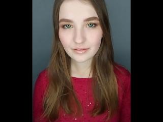 Классический макияж с пигментами
