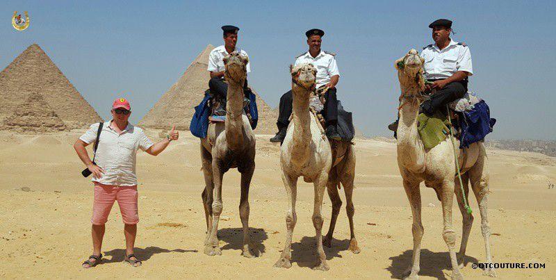 полиция на верблюдах в Египте