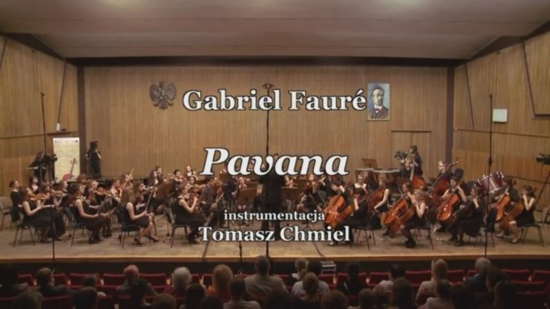 Gabriel Fauré - Pavane, Op. 50, Krakowska Młoda Filharmonia
