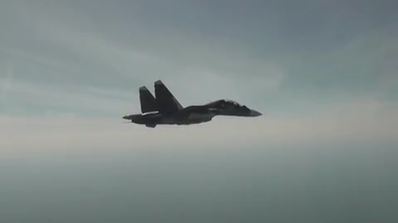 Putin's WARNING to the West Russia unleashes fearsome Su 30 strikes in chilling threat