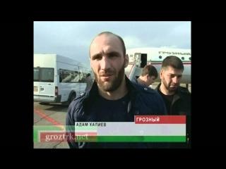 Чеченские бойцы смешанного стиля вышли в полуфинал Чечня.