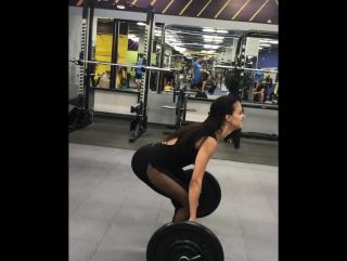 Становая тяга. Комбез Sexy Black