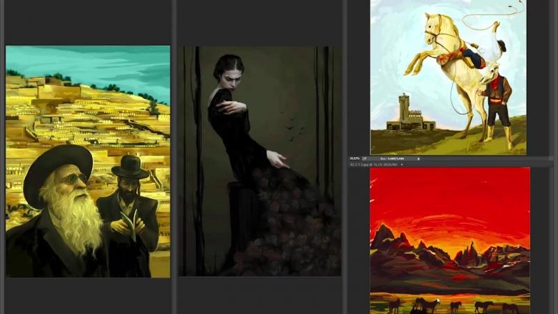 17 Степень детализации Разбираем примеры цифровое рисование в фотошопе