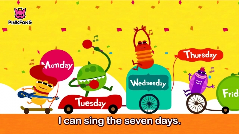 Days of the Week Song