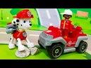Мультики про машинки. Щенячий патруль и Петрович спасают Кота. Видео для детей. Лего мультик