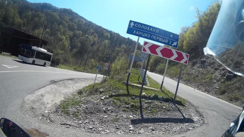 поездка на мотоциклах в Солох аул))