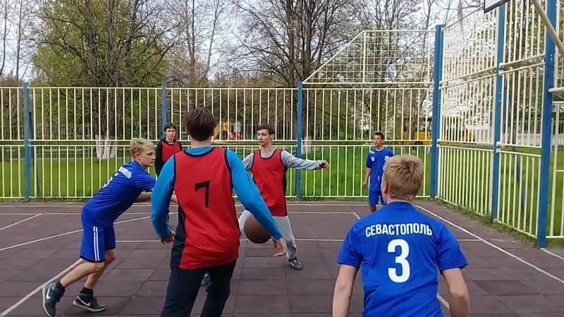 шк 47 шк 13 6 0 президентские состязания стритбол финал юноши
