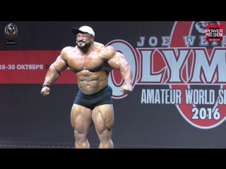 Roelly Winklaar Guest Posing FULL 2016 Amateur Olympia Moscow
