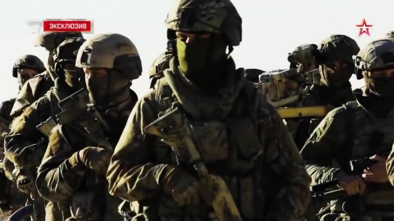 Силы специальных операций Росссии ССО в Сирии