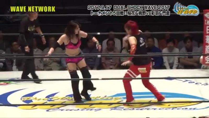 Mio Momono Yumi Ohka vs NEW TRA Rin Kadokura Takumi Iroha WAVE New Chapter