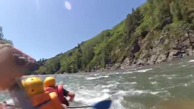 Рафтинг на реке Горная Ульба от реки Сержихи Raft tour Рафт тур yaclip scscscrp