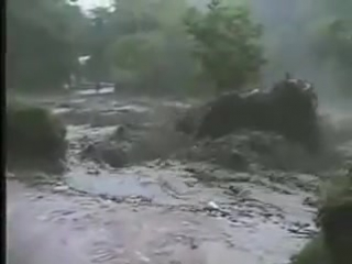 Кисловодск. Стихия 2002 г
