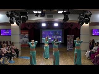 Выступление коллектива Жар-птица на открытие фестиваля AL Salam 2018.