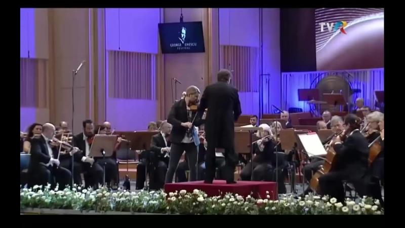 David Garrett - Tchaikovsky Violin Concerto in D major op 35 George Enescu Festival Bukarest 2017: