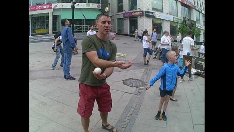 Уроки жонглирования