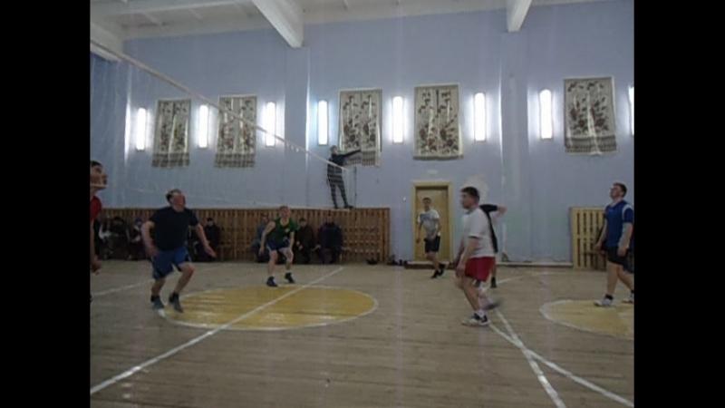 Наласа һәм Курса авыллары арасында волейбол ярышы