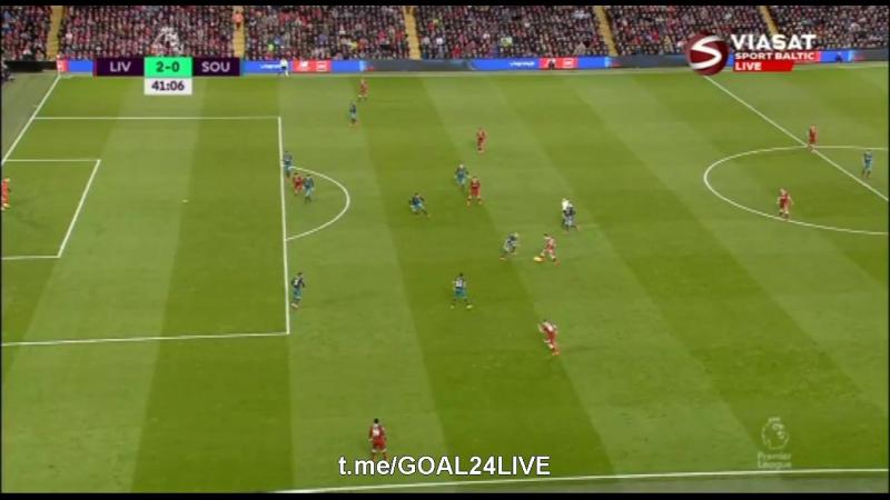 Ливерпуль 2:0 Саутгемптон | Дубль Салаха