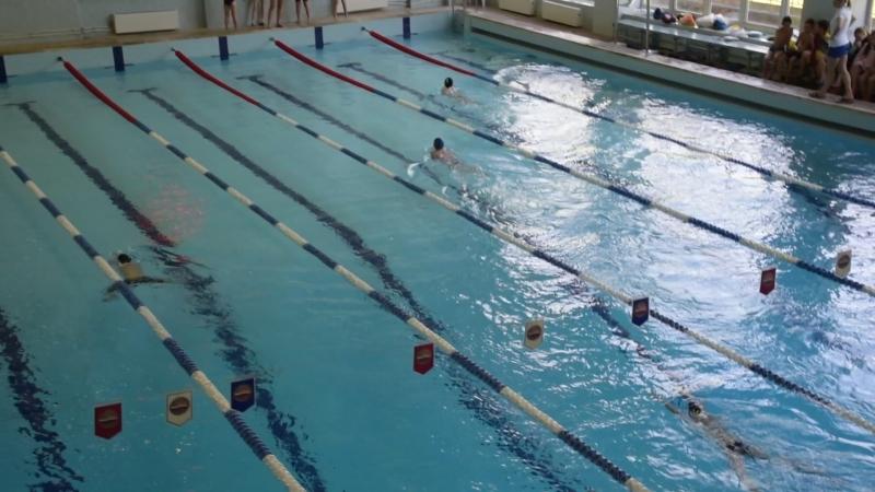 200м кпл мальчики 2 заплыв (25.05.2018)