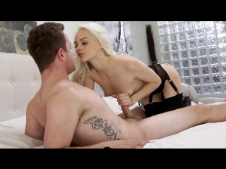 Elsa Jean - A Little Naughty (Blonde, Natural Tits, Blowjob, Teen, Lengirie)