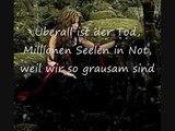LaFee - Lieber Gott Dear God (English translation)