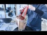 Равномерная форма с длинной челкой I  how to cut short women haircut with long fringe