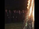 🇹🇷Suhum sahilinde Kafkas Savaşı kurbanları anısına ateş yaktılar 🇷🇺 костёр в память о жертвах Кавказской войны