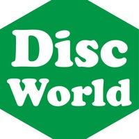 Логотип DiscWorld - Настольные игры и комиксы Иркутск