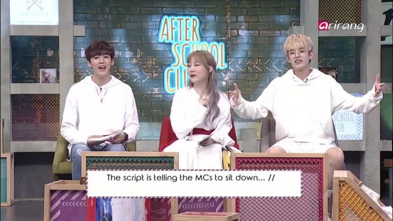 [Шоу] 170926 Джэ @ After School Club Ep.283 - Golden Child(골든차일드) _ Full Episode _