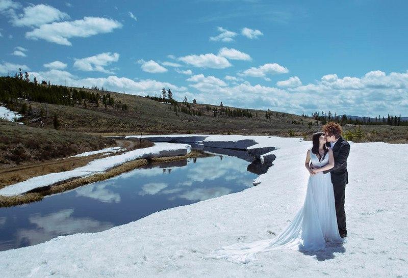 Самая продолжительная свадебная фотосессия