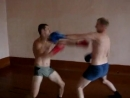Бокс в казарме