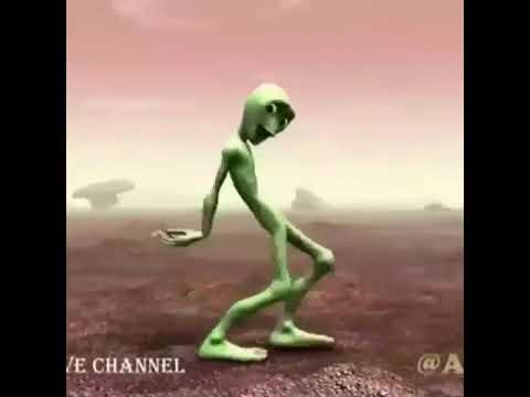 Весёлый Танец Зелёного Человечка ОРИГИНАЛ