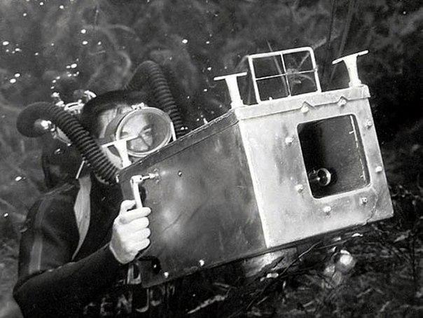 Пин-ап фотосессия 1938 года от пионера подводной фотографии Брюса Мозерта (Часть 1)