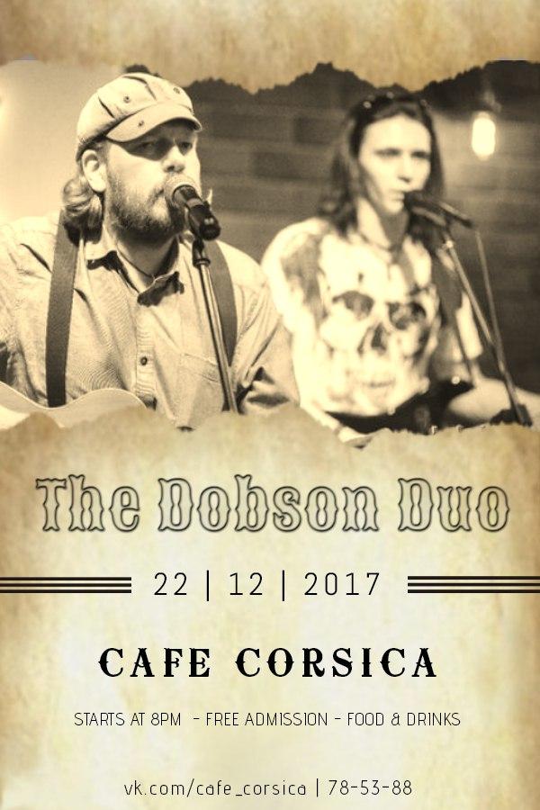 22.12 The Dobson Duo в кафе Корсика