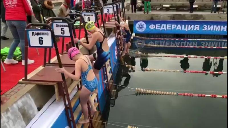 2017.11.17 - 1 день 2-го этапа Кубка Мира по зимнему плаванию