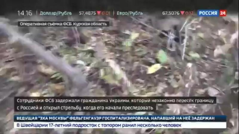 В Курской области украинец обстрелял российских пограничников нарушитель госграницы задержан у нарушителя обнаружено оружие
