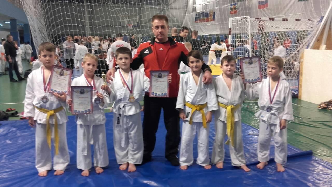 Городская команда дзюдоистов выступила на турнире, посвященном памяти Г.К.Жукова