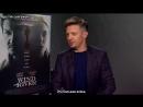 Jeremy Renner on his new modern Western thriller Wind River (рус. суб.)