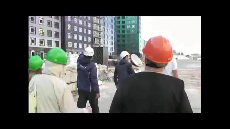№ 5 Краны второй очереди Идем в первый корпус на 6 этаж
