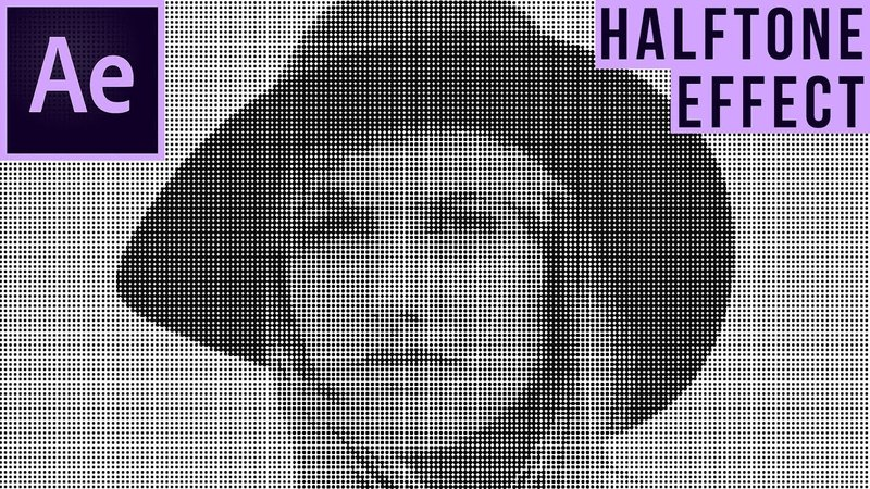 How To Create A Halftone Effect In After Effects