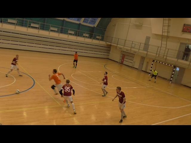 НМФЛ. Высшая Лига ЮАО. Волна - Москва ЮАО 3:4