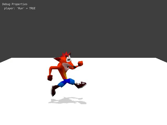 Crash Bandicoot fangame template progress 1