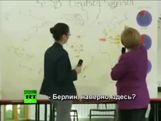 Меркель ищет Берлин · coub, коуб
