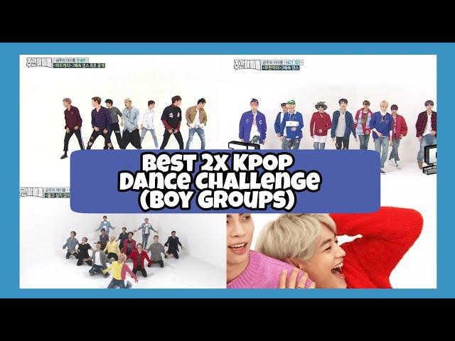 Best 2x Kpop Dance (Boy Groups) @ Weekly idol (SEVENTEEN,NCT 127,GOT7,ASTRO,INFINITE,SHINEE)