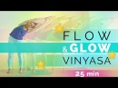 Prenatal Vinyasa Flow Yoga for Flexibility 25-min Flow Glow Yoga